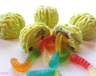Stuffed Zombie Brains