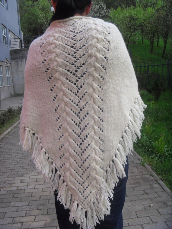 Knitting pattern for shawl Pattern for women Gift pattern