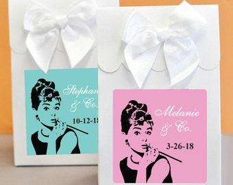 12 pcs Breakfast at Tiffany's Favor Boxes (PPD-JM2489545-EB2126)