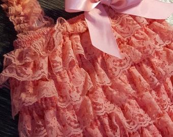 Romper lace set