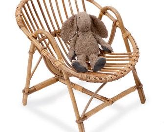 Chair rattan child vintage