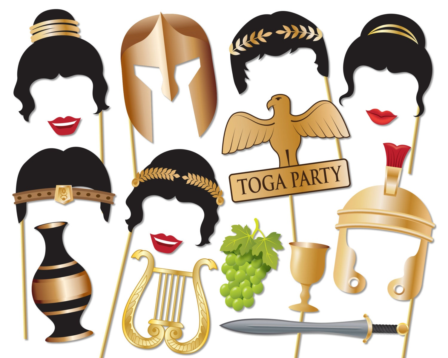 Toga party – Toga Party Invitations