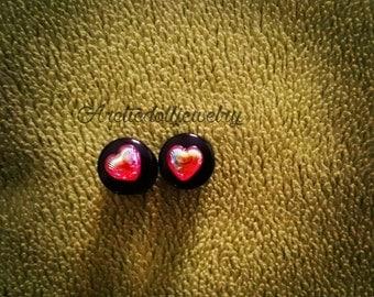 Pair of mini plugs heart