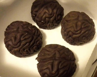 Vegan Chocolate Peanut Butter Brains