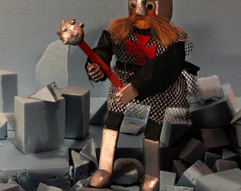Marionettes Warrior Templar Puppet String Marionette
