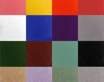 "9"" x 9"" Square Felt Fabric Material *16 Colours*"