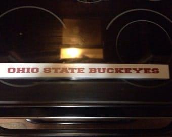 Ohio State Buckeyes Primitive Sign