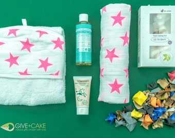 "Gift set ""Hello baby girl"""