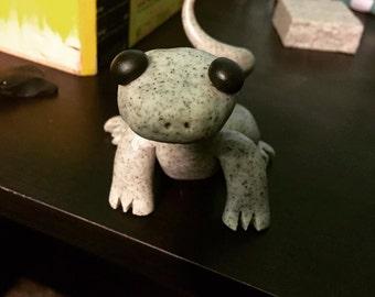 Stone Clay Lizard