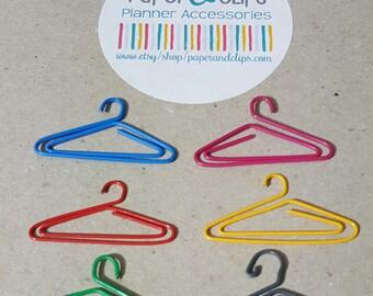 1 Cloths Hanger Paper Clip or Bookmark
