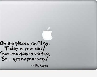 Dr. Seuss Places you'll go Decal