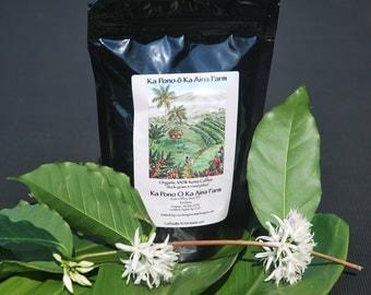 100% Organic Kona Coffee 8oz