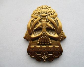 Bassnectar Skull 2 HAT PIN