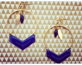 "Rafters ""Mrs Pervenche"" earrings"