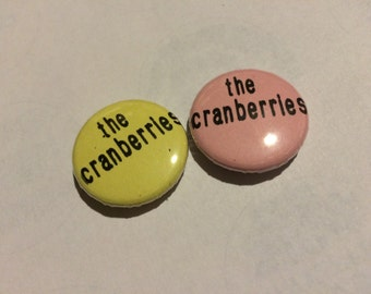 "Cranberries 1"" Button"