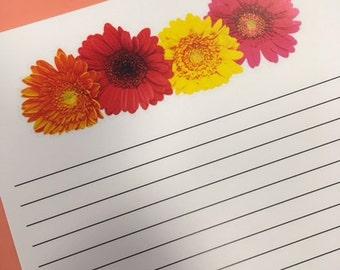 Gerbera Daisy Paper