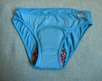 MOON-PANTIES~ Special underwear for women period!! soft & comfy panties with a cotton pad~ Bamboo underwear with a sawn pad~ varity of sizes