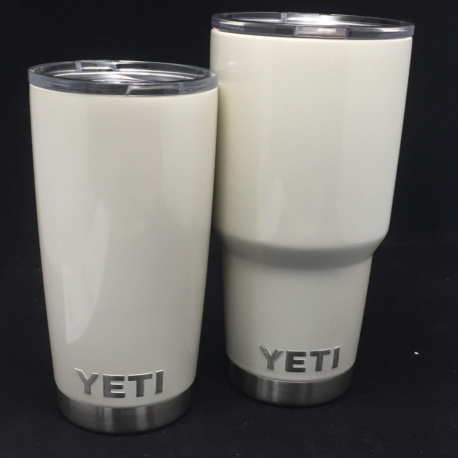 Yeti Cup Prices >> Antique White Powder Coated Yeti Rambler Tumbler Colster or