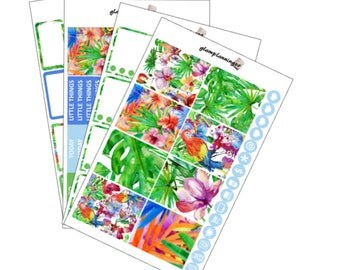 SALE Full kit - Tropical Paradise - Planner Stickers