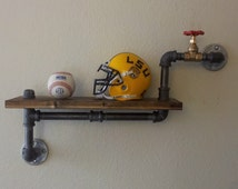 Popular items for pipe rack on etsy for Tubi idraulici arredamento
