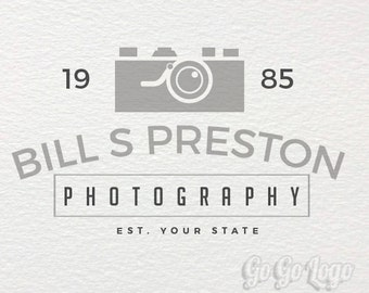 Premade Logo and Watermark - Photography