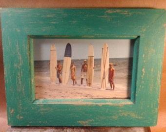 1960s  Rehoboth Beach Surfers,  Framed Postcard