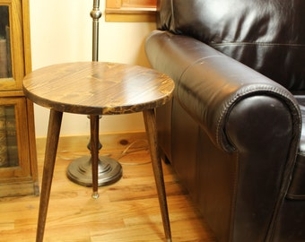 Mid Century Modern Round End Table