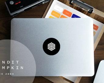 Cube Macbook Matt Decal - 45 vinyl colours