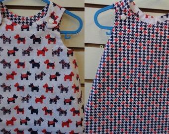 Reversible Dress 3-6 months (5680)