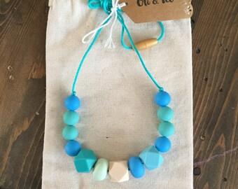 Sweet Blues, Teething Necklace, Nursing Necklace