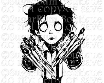 Edward Scissorhands svg