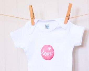 Love Baby Organic Onesie