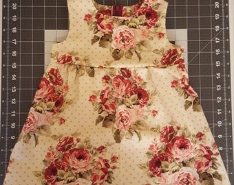 Cute Baby Dress With Roses