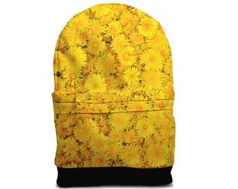 SALE! Flower dandelion backpack bag