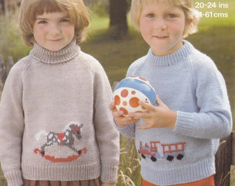 Childs motif jumper Etsy UK