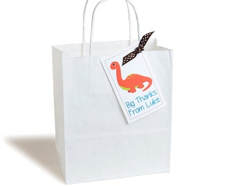 Personalised Dinosaur Party Bag
