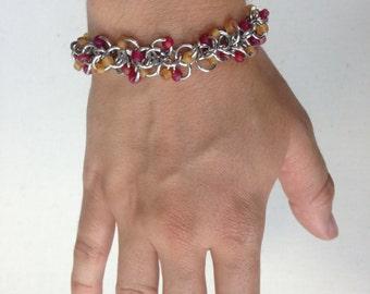 Beaded Shaggy Loops Bracelet