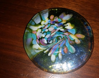 Vintage Multi Color Brooch