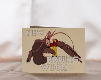 New Brunswick Postcard- SHEDIAC