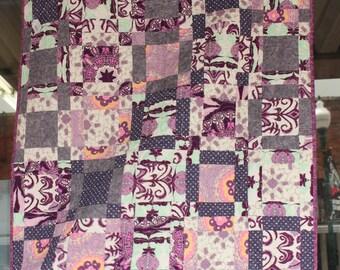 Lap Quilt- Purple