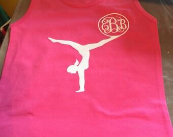 Gymnastics Monogram Youth Tank