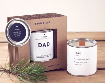 Father gifts,  Dad gifts, Gift for dad, Gift for father, Gift dad, Gift for men, Gift for him, Gift for husband, Father's day gift, Candle