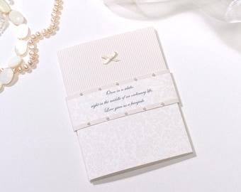 Crathorne wedding invitation