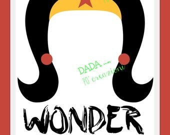 """Custom poster """"WONDER."""""""