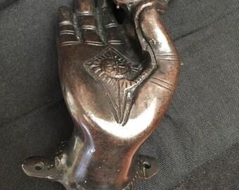 Hand Door Handle with Lotus