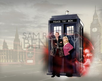 Doctor Who - 'Do You Want to Come With Me?' - Print