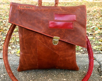 Reddish Brown Leather Love