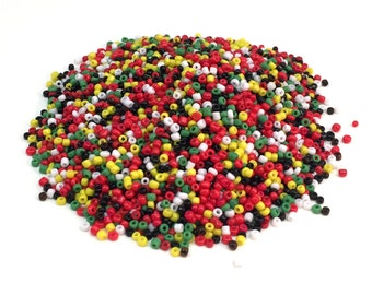 Tiny Round Beads - Mix Color - 2.5 mm