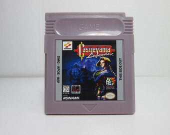Castlevania Legends fan made reproduction Gameboy