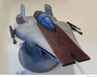 A-Wing (1:30 scale) with Rebel Alliance symbol display stand